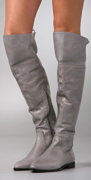 leather over the knee boots | Fashion Shoes For Girls